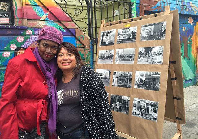 Rivera Liz Cervantes and Ayana Baltripbalagas. Photo by Anna M. Clausen