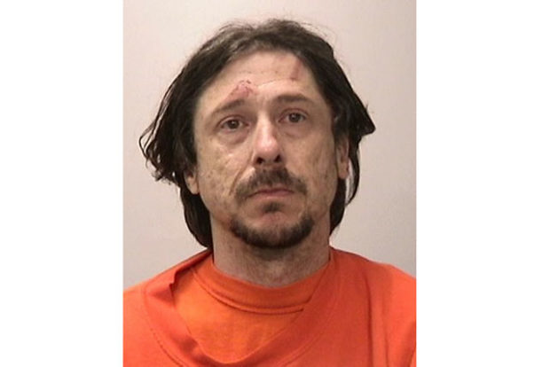 Booking photo of suspect Robert Kaplan, courtesy SFPD