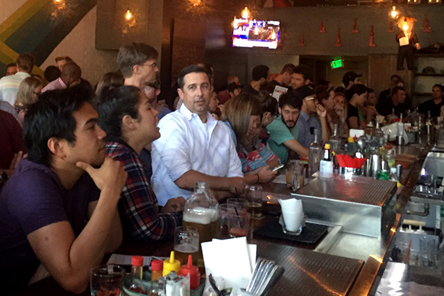 Dispatches from SF Mission Debate Watch Parties