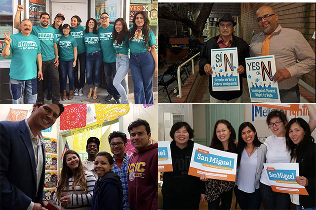 In Tech-Centric SF Mission, It's a Door-To-Door Political Campaign