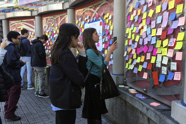 Artists to Close Empathy Wall Tonight with Community Gathering