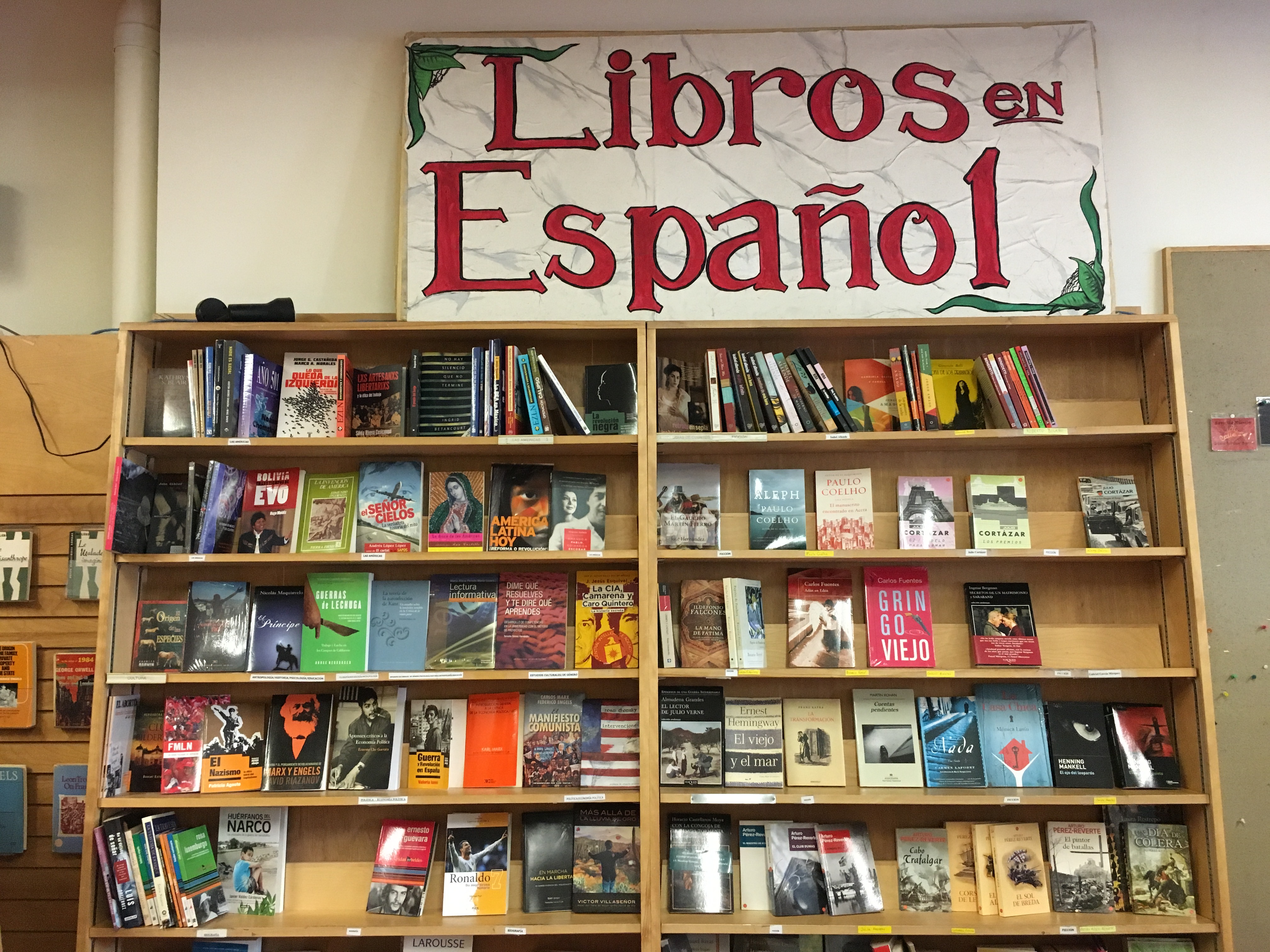 Modern Times Bookstore on its penultimate day, November 14, 2016. Photo by Joe Rivano Barros.