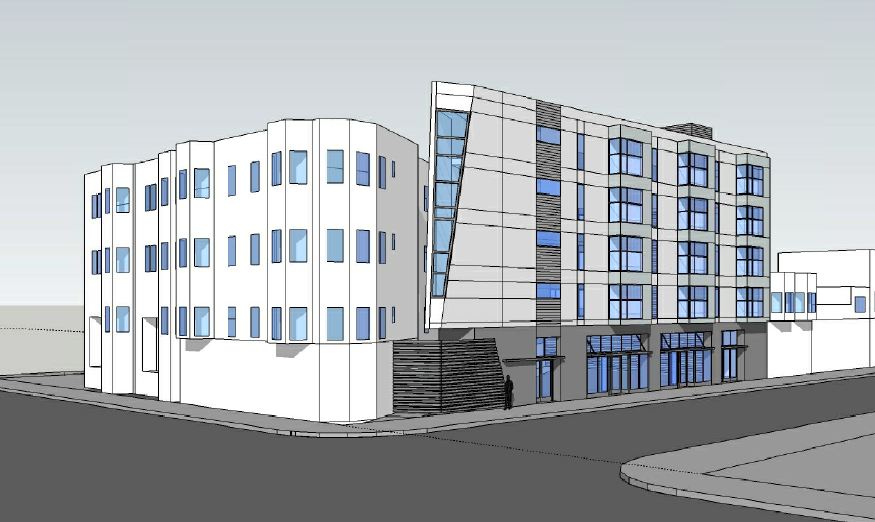 Five-Story Housing Coming to 24th Street Parking Lot