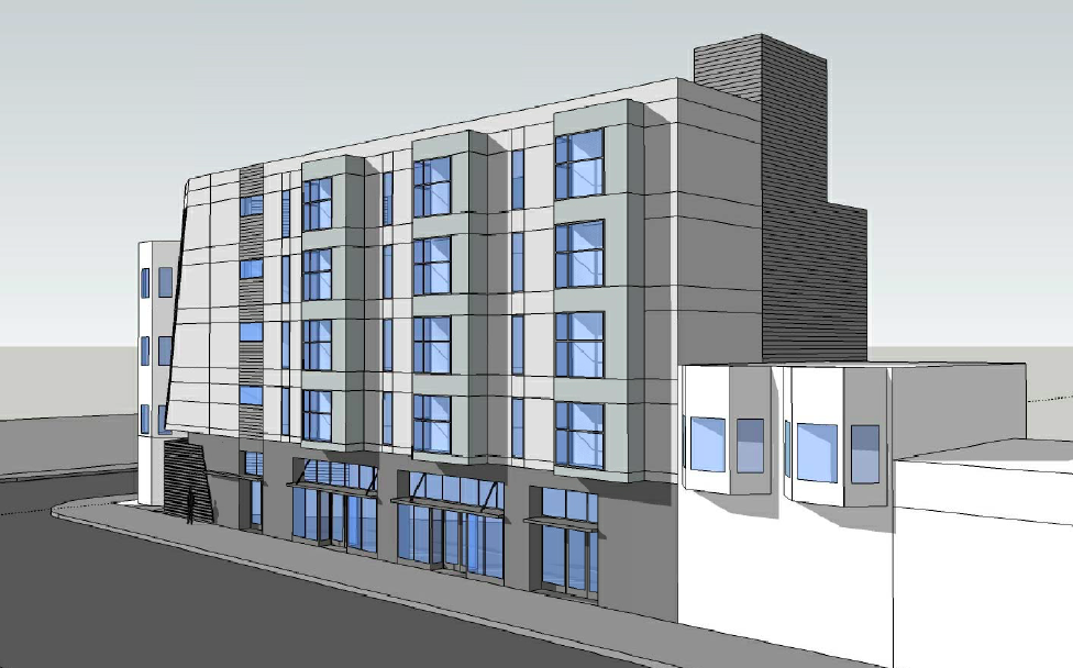 The proposed project at 3236 24th St. Design by Weisbach Architecture & Design.