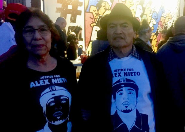 Parents of Alex Nieto Remember Their Son and Wait for a Permanent Altar