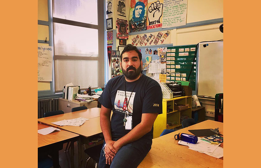 Teachers pledge to funnel crisis checks to undocumented neighbors (SF Public Press)