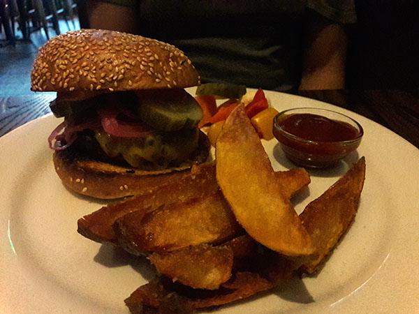 Myriad burger.