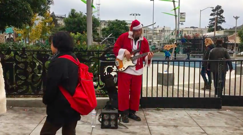 VIDEO: Holidays in the Mission, Valencia Street