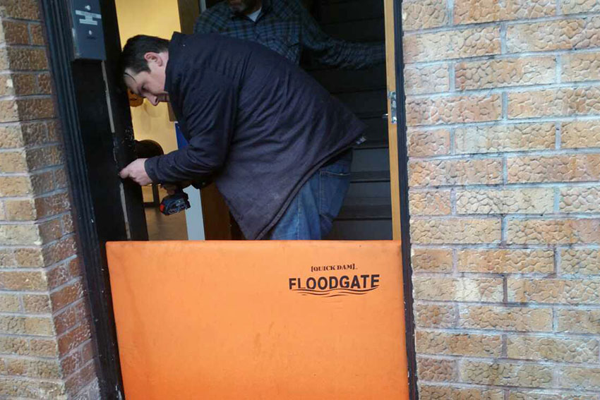Mission Businesses and Tenants Brace for Flooding