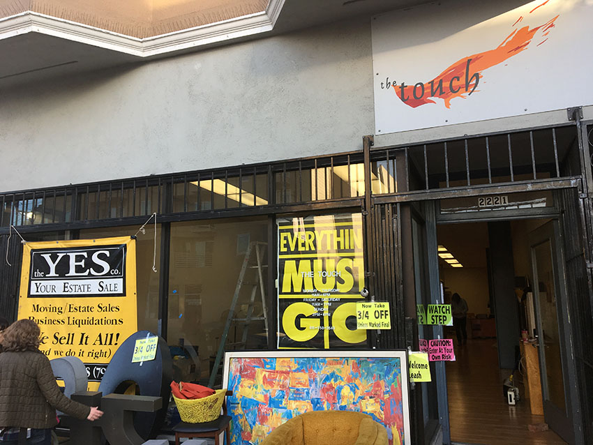 The Touch Furniture Closes, Leaving Nearly a Block of Mission St. Vacant