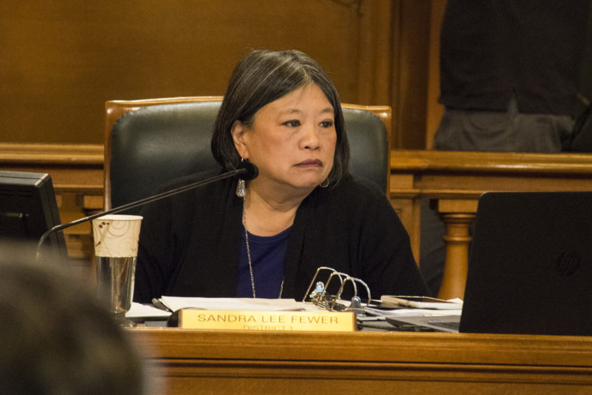 Supervisor Sandra Lee Fewer will not run for re-election