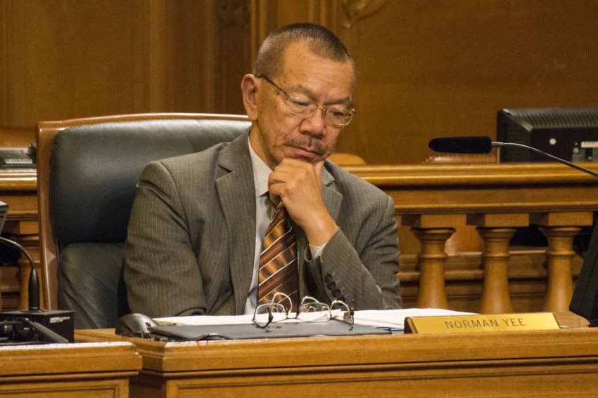 Norman Yee is your board president — and the knives are resheathed