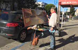 Anthony Holdsworth on Saturday morning on 24th Street.