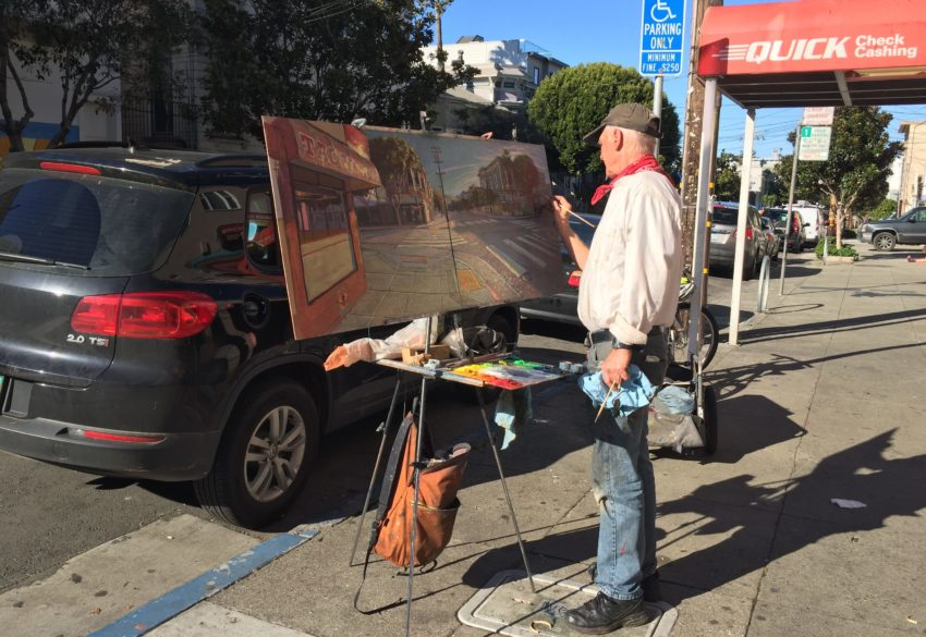 SNAP: A Day's Worth of Painting on 24th Street