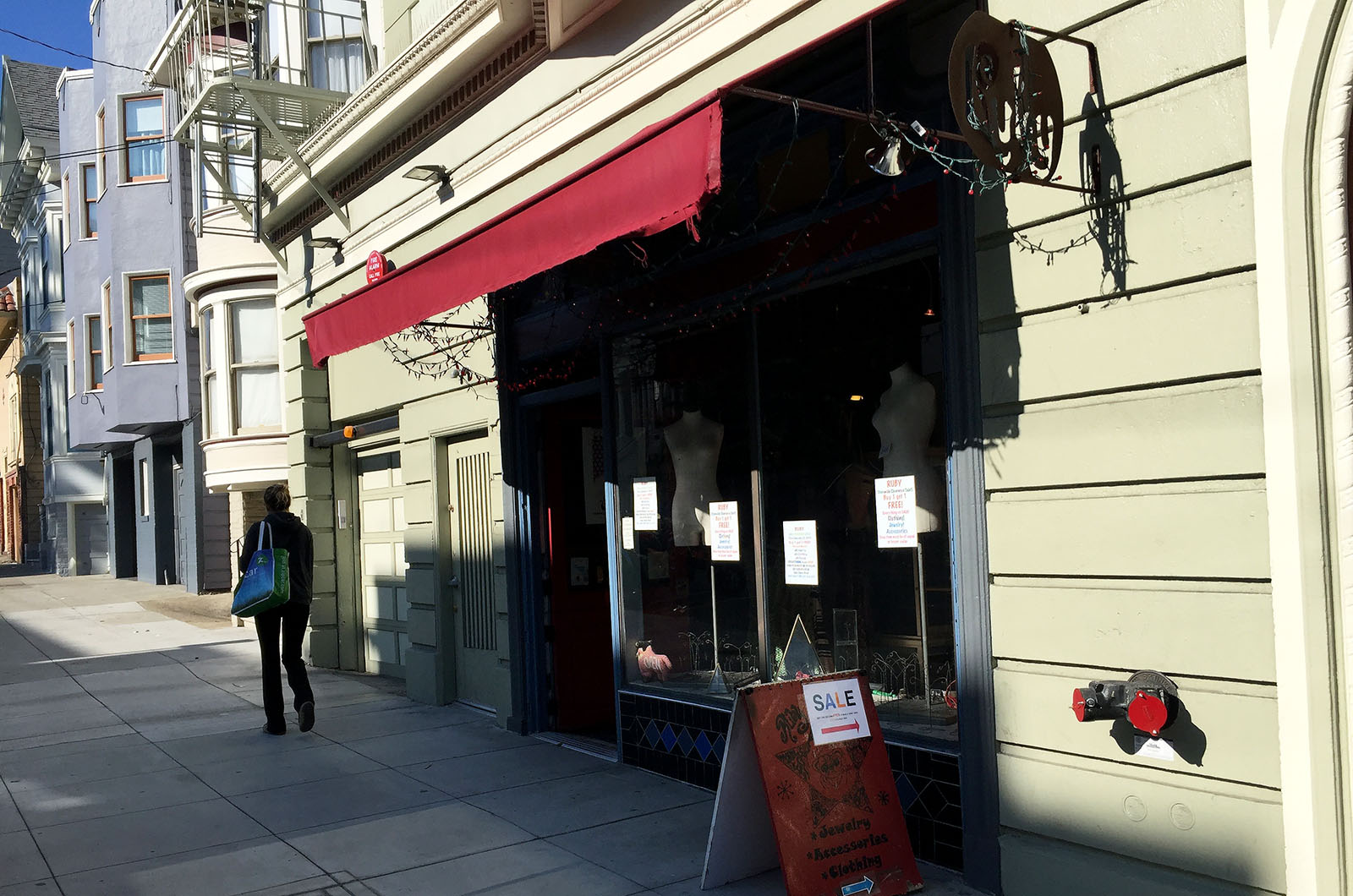 After 20 Plus Years in SF, Ruby on 20th Will Close