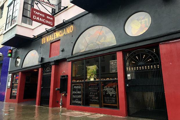 El Valenciano, located at 1153 Valencia St. Photo by Lola M. Chavez
