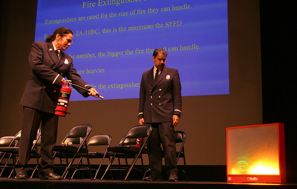 Artists, Landlords Get Fire Safety Tips from City Officials