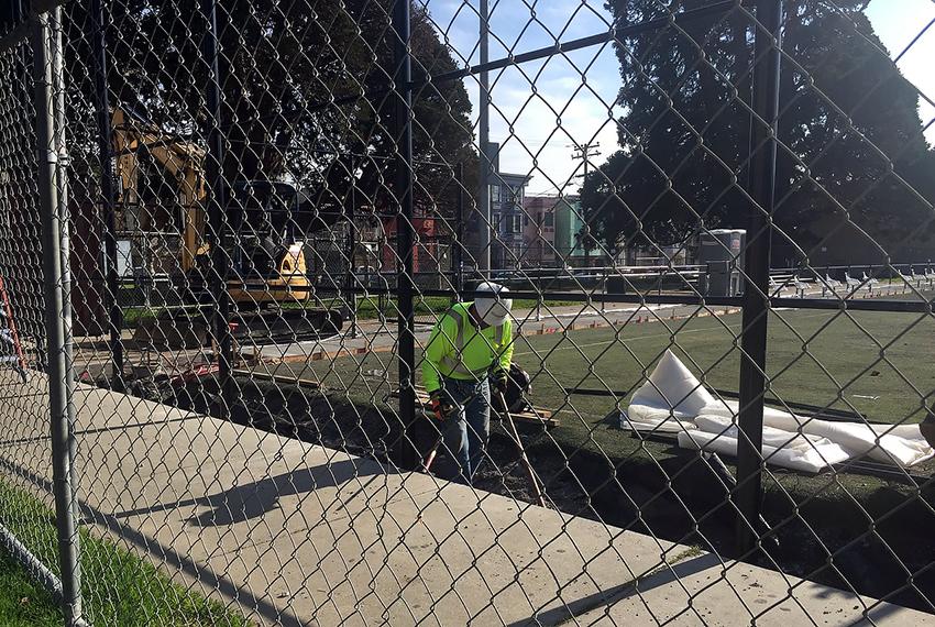 SNAP: New Turf at Garfield Park