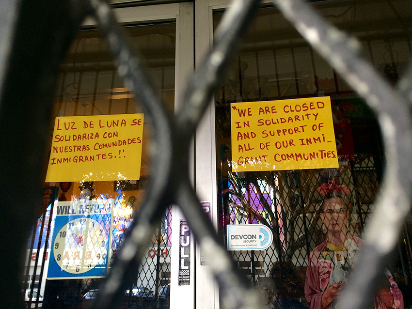 Dozens of Mission District Stores Shutter on A Day Without Immigrants