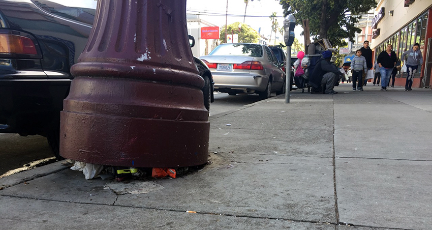 SNAP: Precarious Pole on Mission Street is not so Precarious (Update)