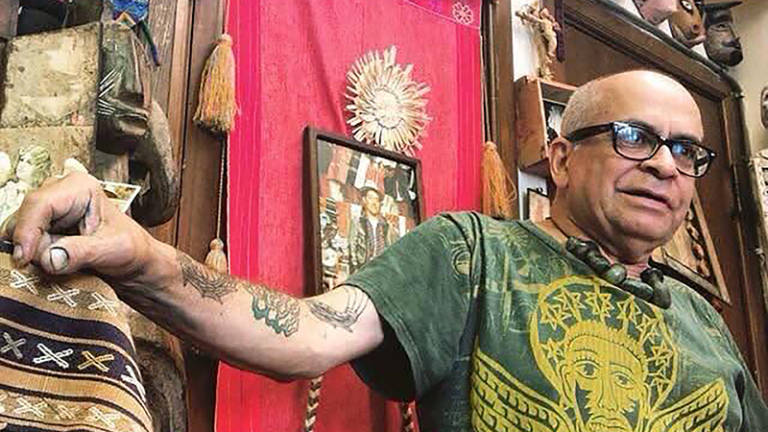 Community Will Remember Artist Michael Roman at Coltrane Church Friday