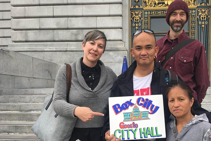 SF Homeless Advocates Propose Legal Encampment
