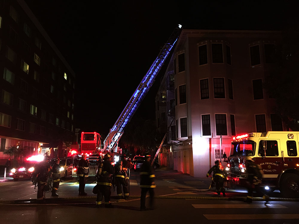 Oven Fire in SF Mission Quickly Contained