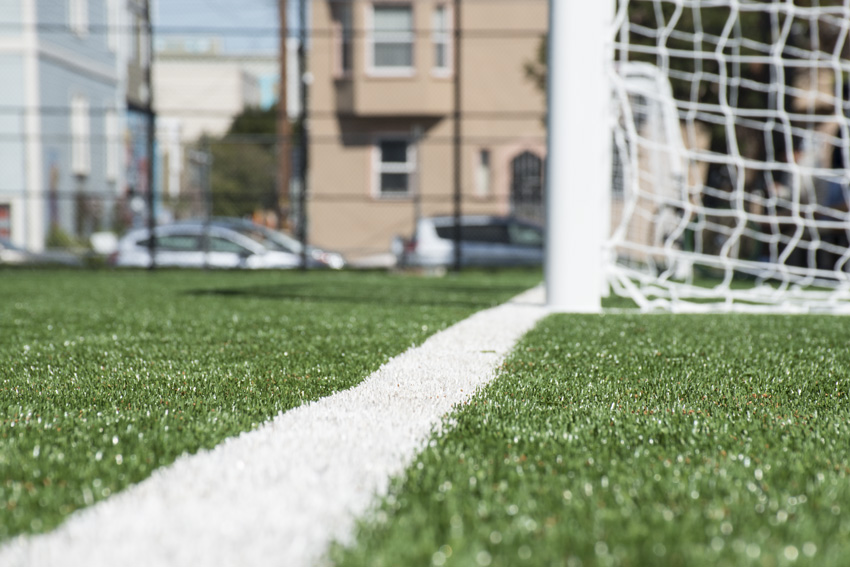 Garfield Square Athletic Field Resurfaced, Reopened