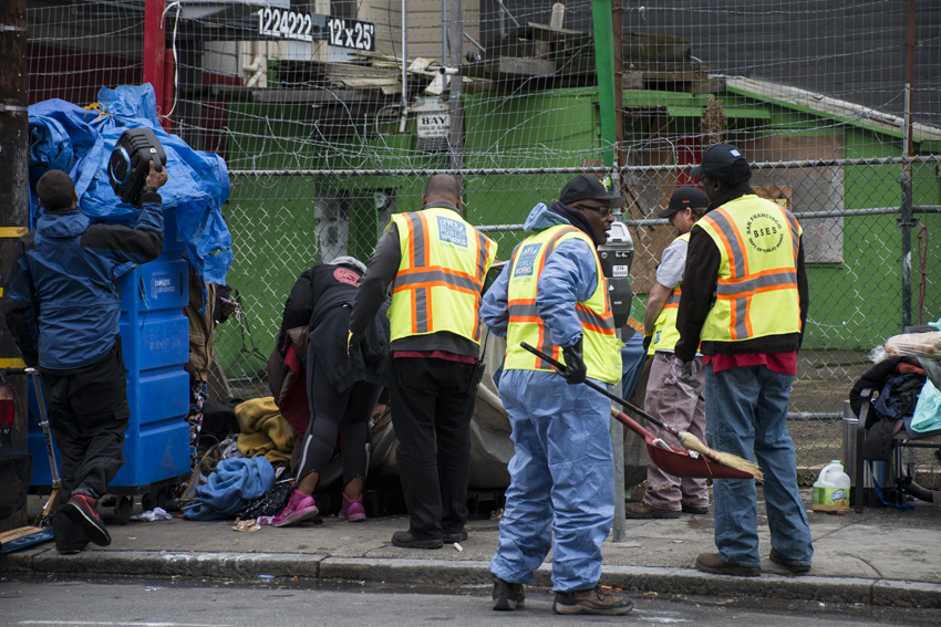 San Francisco homeless policy assailed as cruel, ineffective