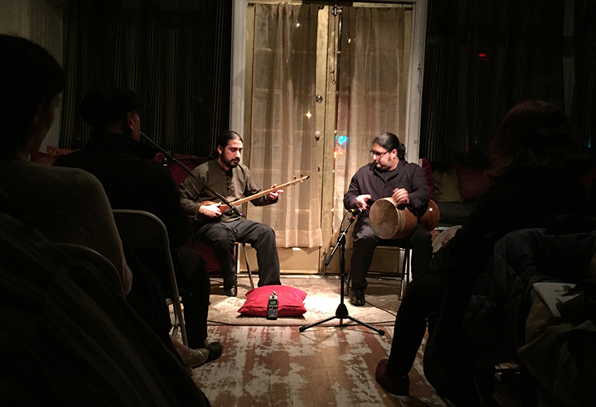 Iranian Musicians Star at SF's Red Poppy