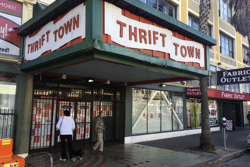 Thrift Town on Mission shutters after 45 years