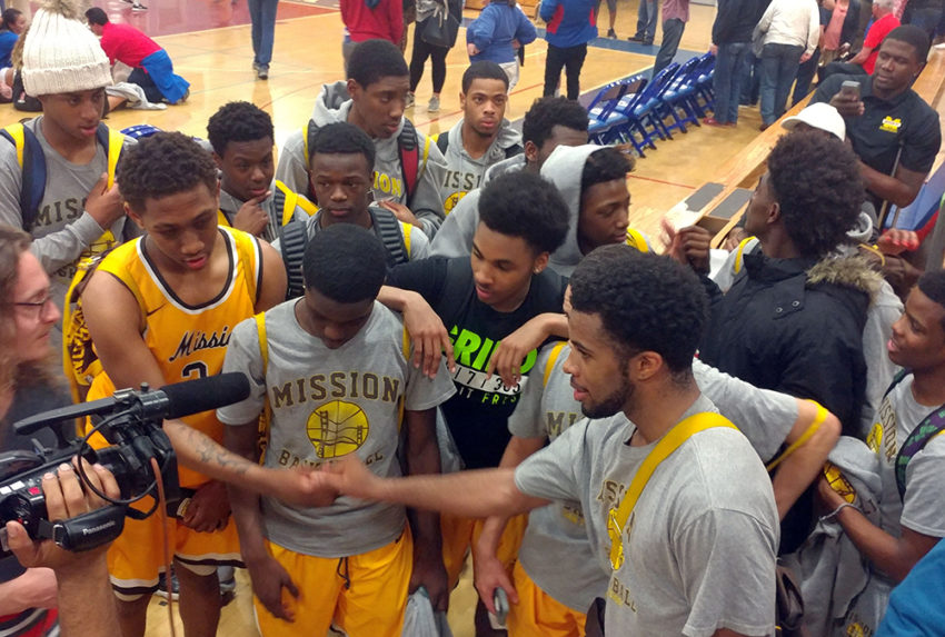 Mission High Basketball Team Aims for Historic Win