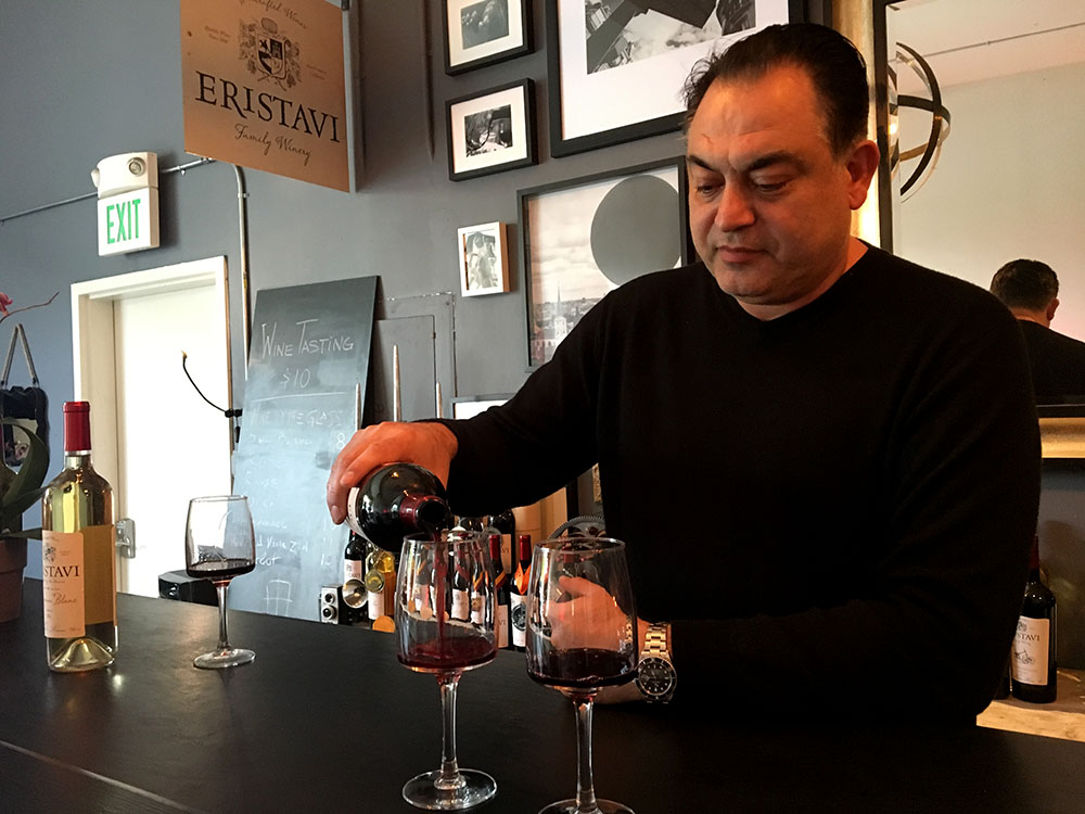 Good humor flows at Mission District family winery