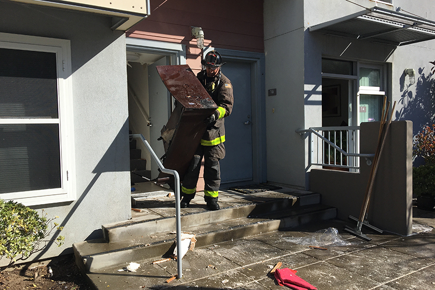 Woman in Critical Condition After Valencia Gardens Closet Fire