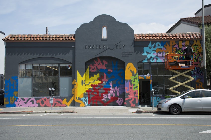 "Pop-up art ""Parlor"" to debut at site of future Valencia development"
