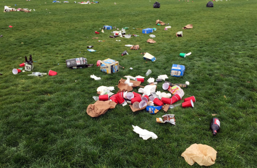 Decision to increase Dolores Park littering fee postponed