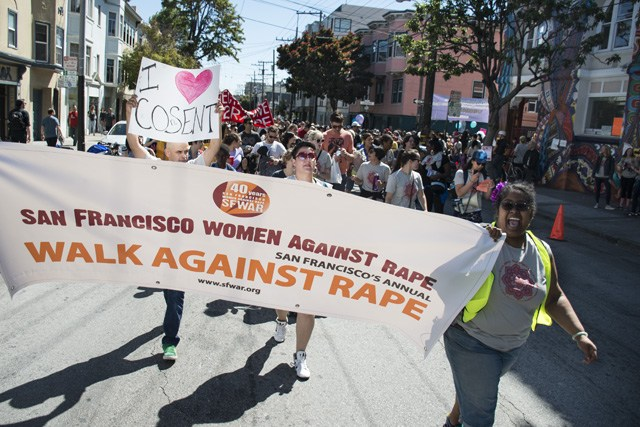12th Annual Walk Against Rape returns to the Mission this Saturday