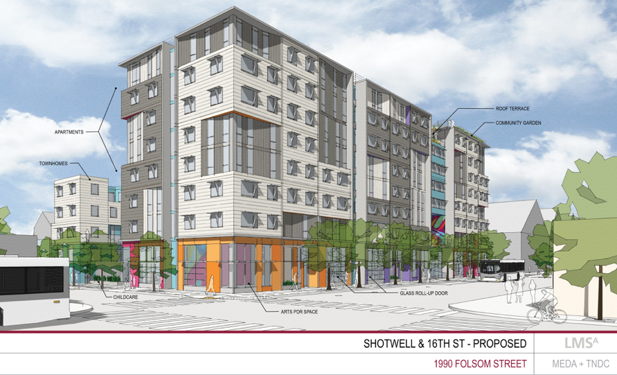 Nonprofit developer focuses on families at 16th Street project