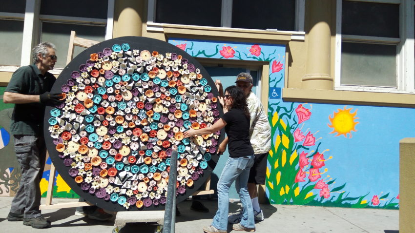 Mission District bilingual school unveils art with message of inclusion and unity