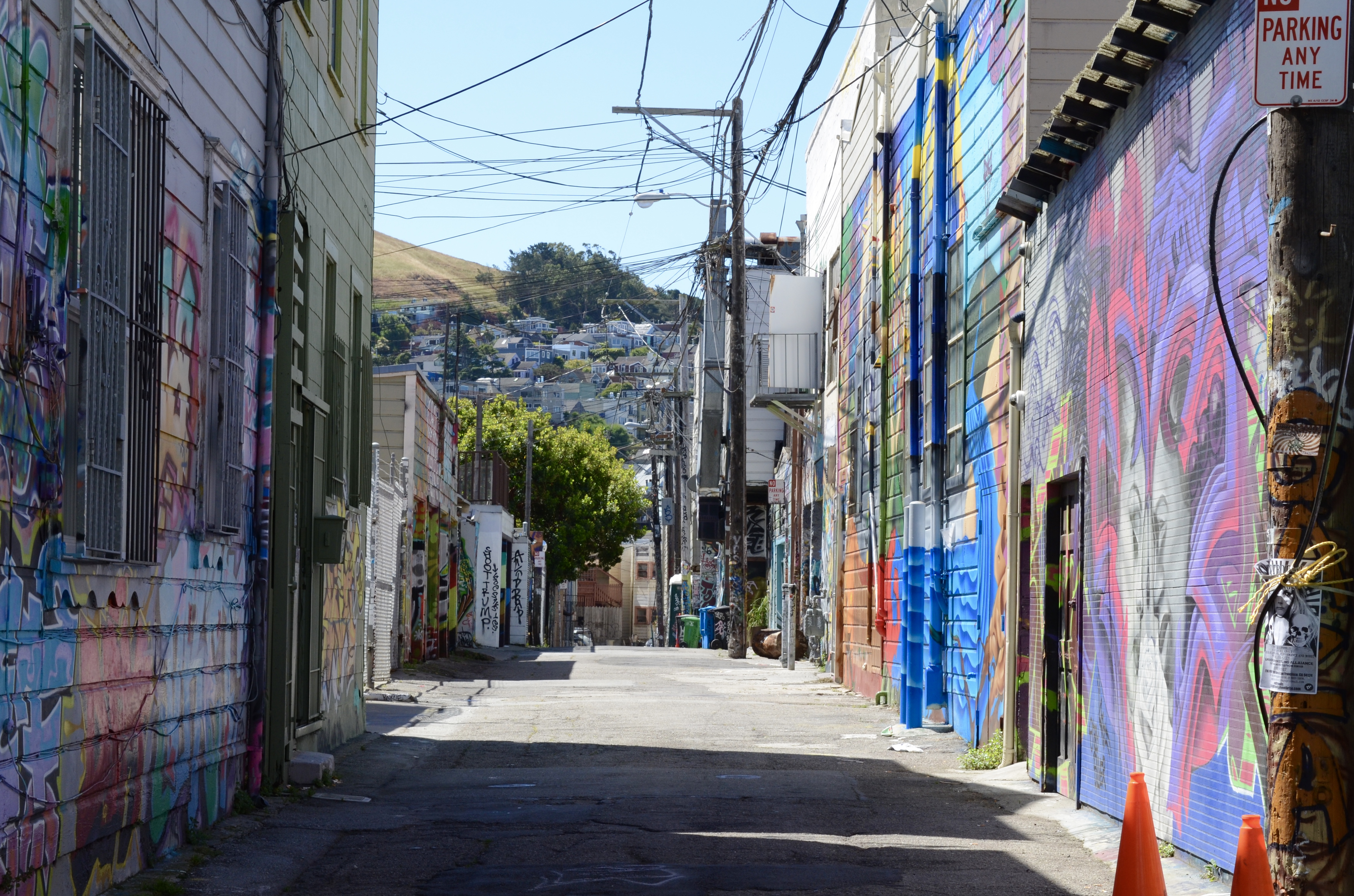 Photo Essay: Looking Down Some Alleys