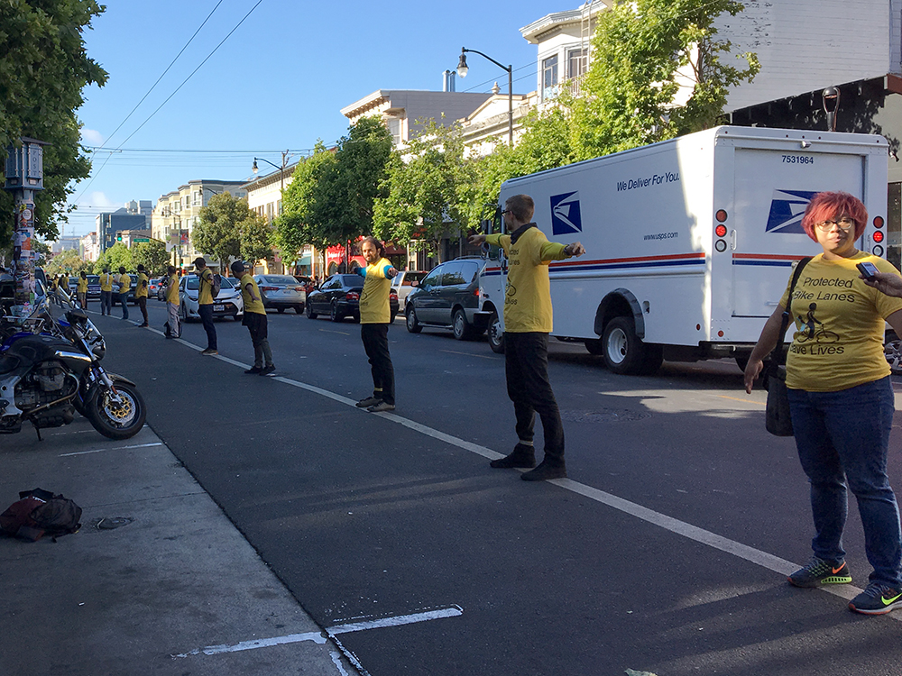 SF politicians, bicyclists and others gear up for bike lane changes
