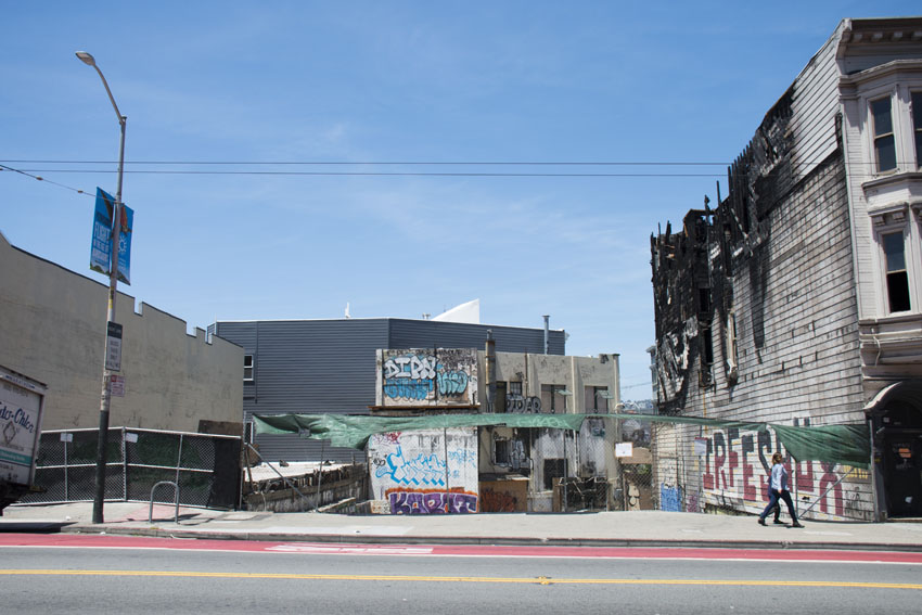 Housing may replace burned former Cole Hardware site