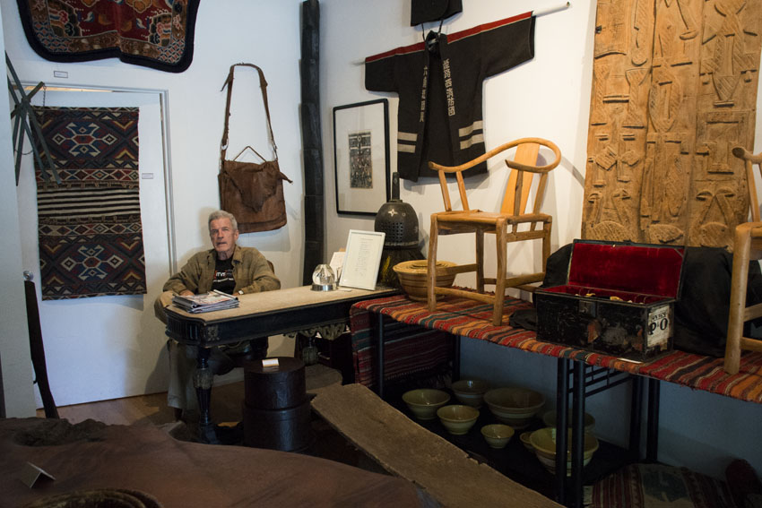 Wunderlich's Wunderkammer brings world artifacts to the Mission
