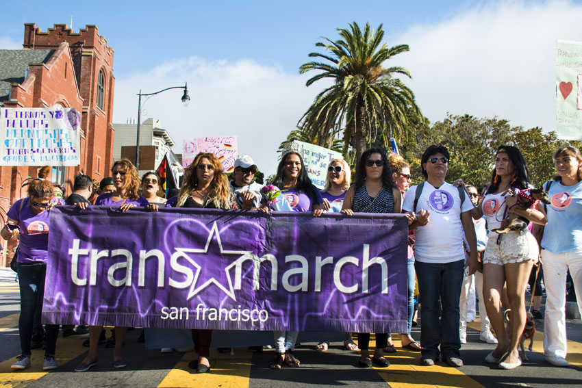 No matter the party in Dolores Park, trans people talk about discrimination
