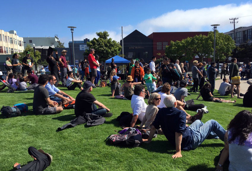 San Francisco opens first new park in a decade