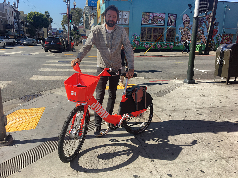 Electric, station-less bike share program starts to roll out