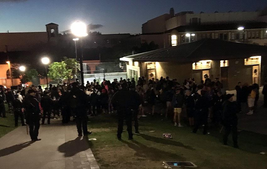 Violence erupts at Dolores Park, twerking reveler changes the mood