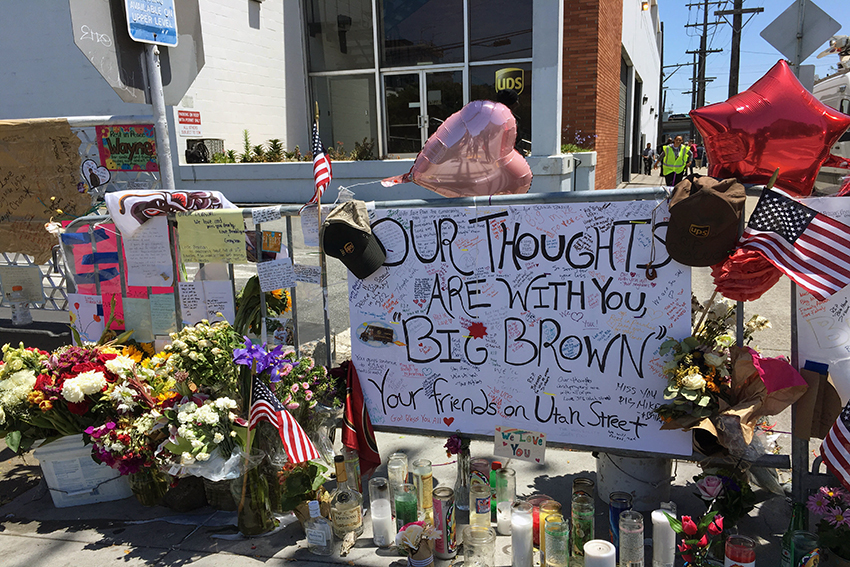 Prayer service honors victims of UPS shooting