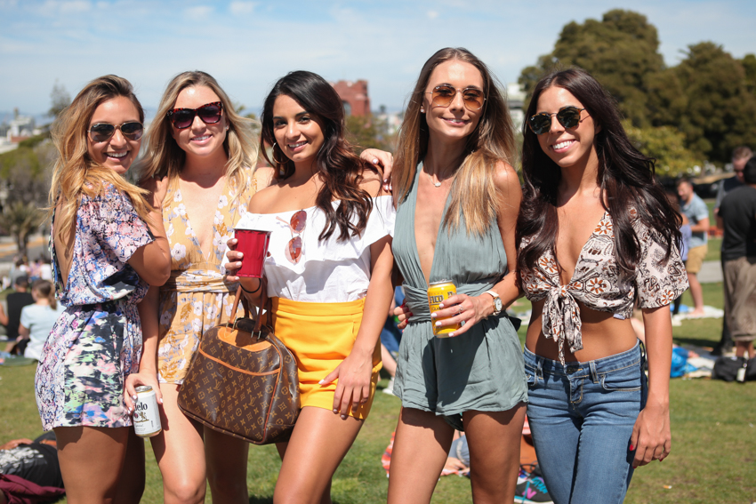 Dolores Park Style: an off the shoulder day