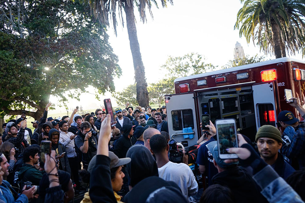 Police clash with skateboarders at Dolores Park